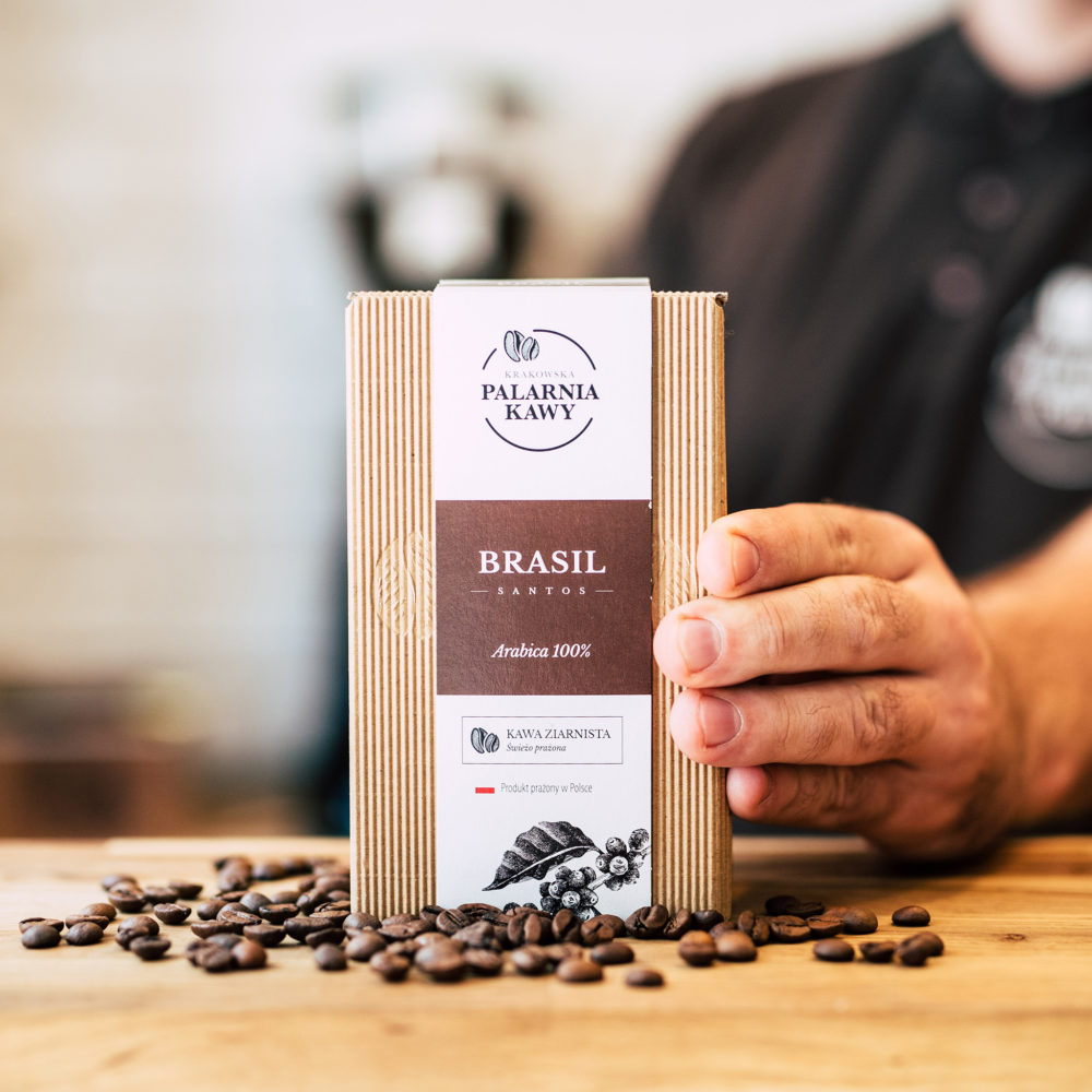 Kawa z Brazylii Brasil Santos