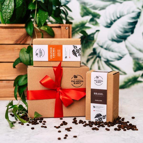 Zestaw kawy GRANDE CREMA + BRASIL SANTOS