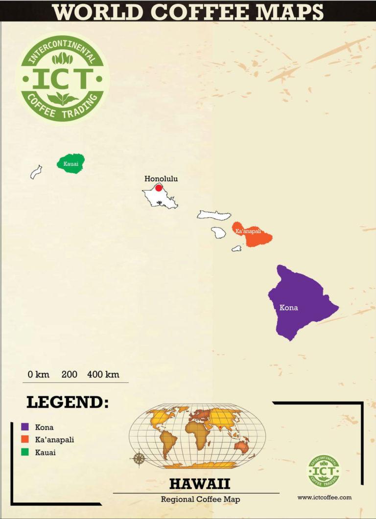 kawa hawaje mapa