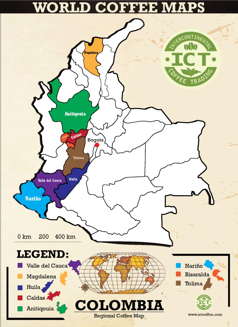plantacje kawy w kolumbii