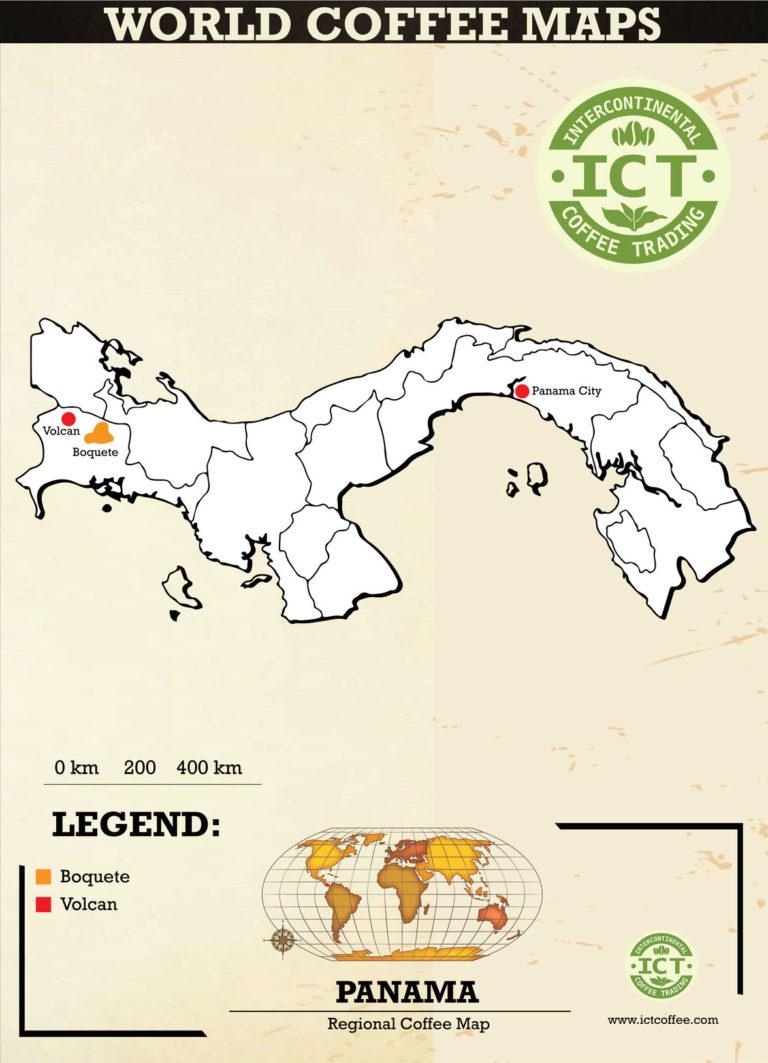 plantacje kawy w panamie